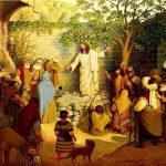 Chúa Giêsu giảng dạy cho dân chúng