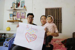 Gia đình bé Bùi Gia Nhi