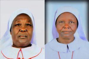 Sơ Mary Daniel Abud (bên trái) và sơ Regina Roba (bên phải)