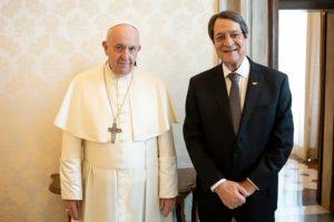 ĐTC Phanxicô tiếp Tổng thống Cộng hòa Síp